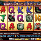 Triple Fortune Dragon Slot
