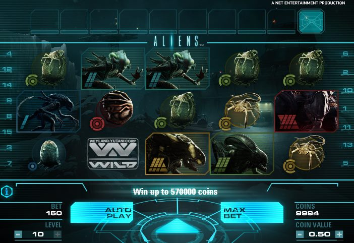 alien slots free online
