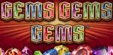 Cover art for Gems Gems Gems slot