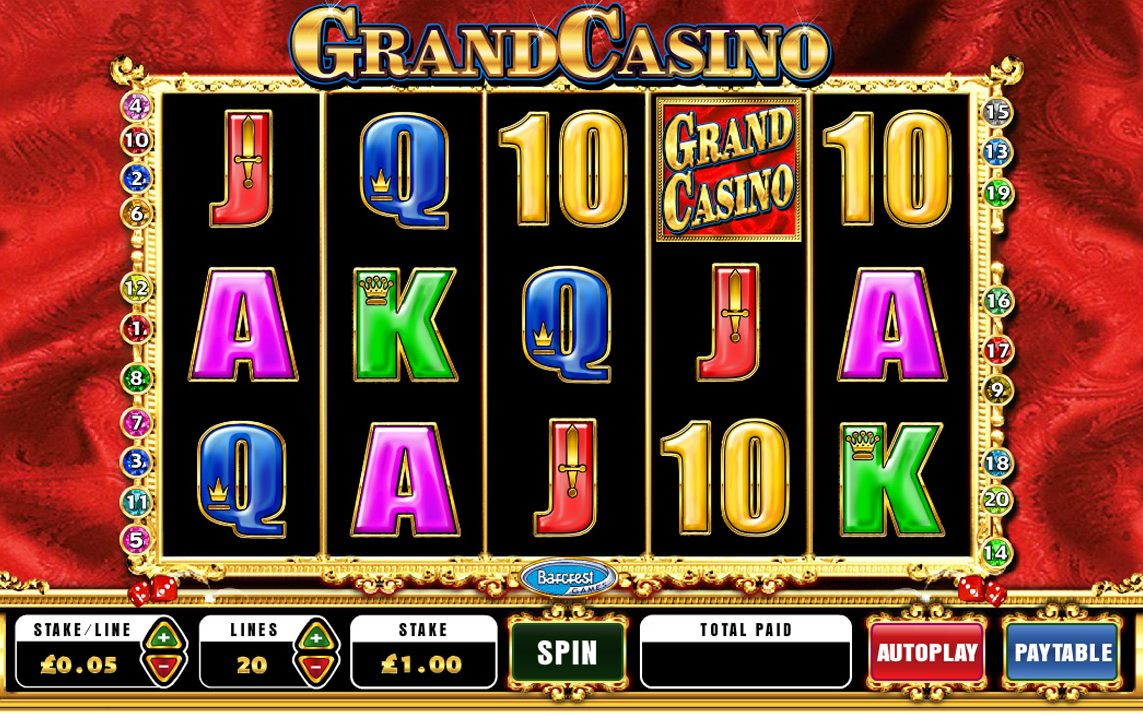 grand online casino slot games kostenlos