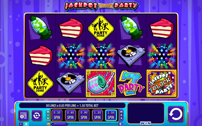 free online jackpot block party slots