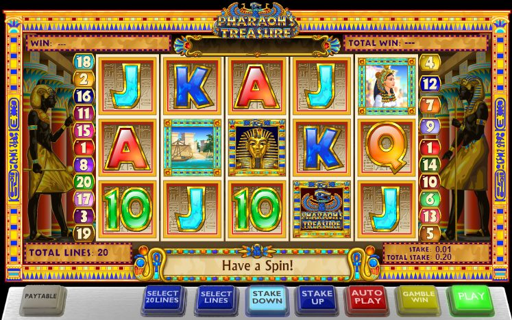 Pharaoh's Treasures Slots - Play Online for Free Now
