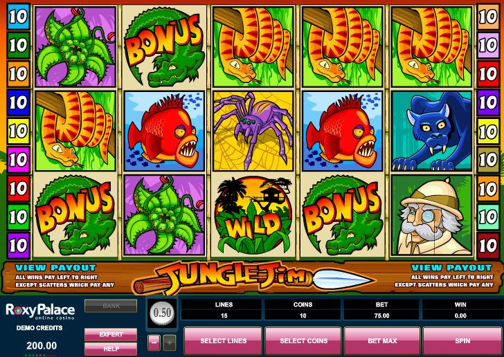 slots jungle casino no deposit bonus codes