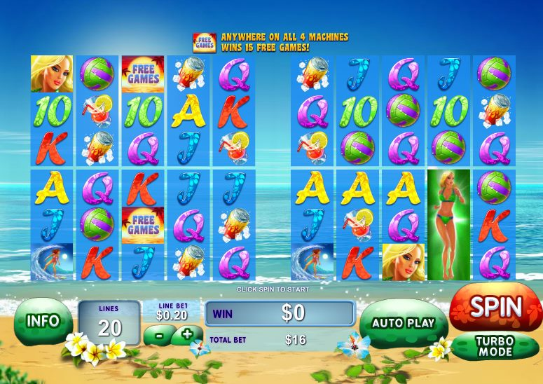 Play Sunset Beach online slots at Casino.com