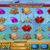 The Three Musketeers and the Queen's Diamond Slot