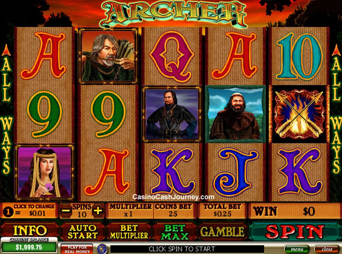 Spiele Archer - Video Slots Online