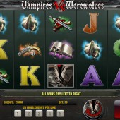 Vampires vs Werewolves Slot