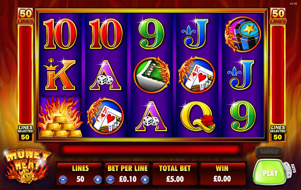 Money Heat Slot Machine – Play Free Ainsworth Slots Online