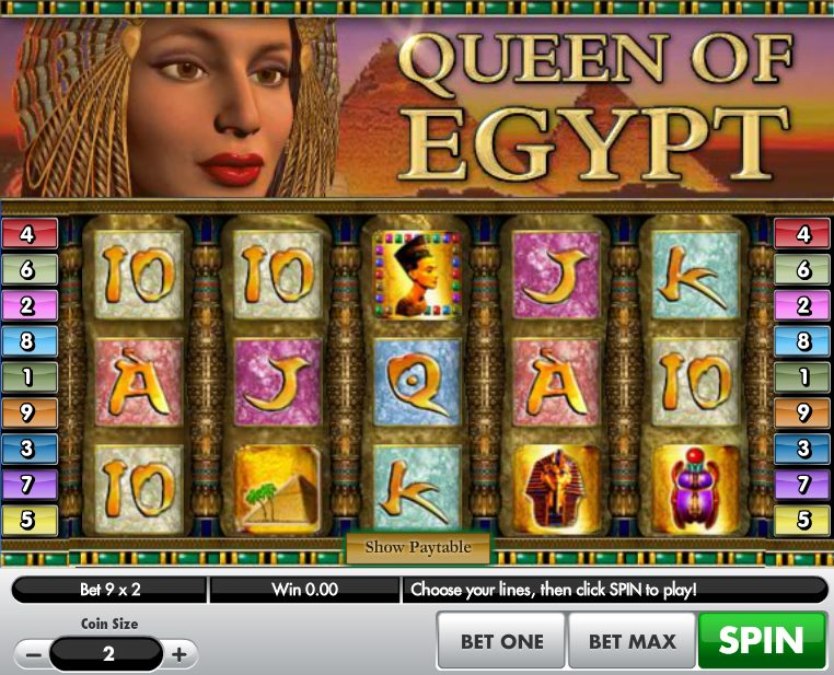 Valley of the Kings Slots - Play this Video Slot Online