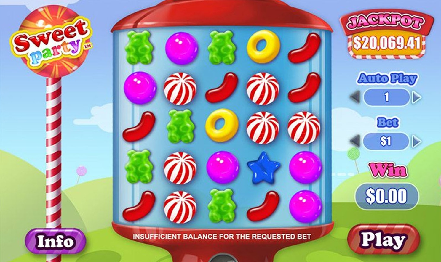 Sweet Party Slots-Read a Review of this Playtech Casino Game