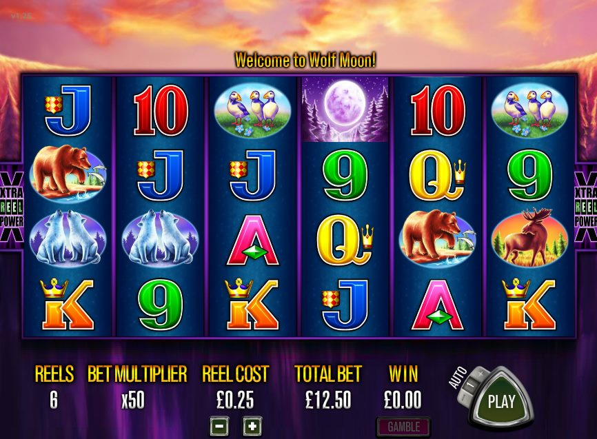 Wolf Moon Slot - Play this Amatic Casino Game Online