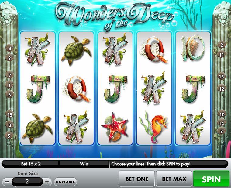 Wonders of the Deep Slot Machine