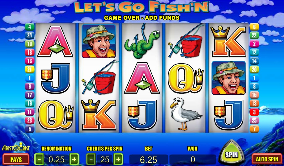 gone fishing slot machine games