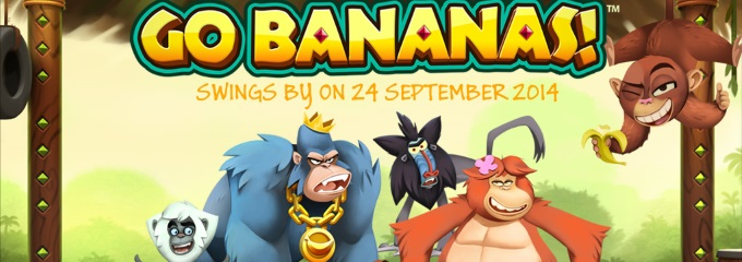 Go Bananas slot logo