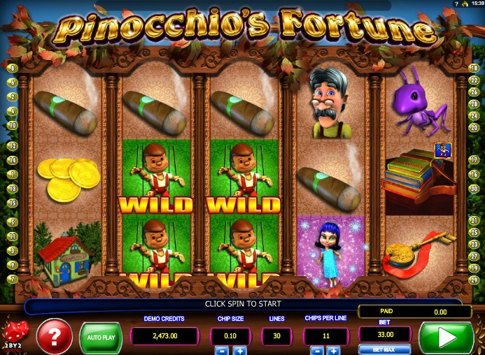 Spiele Pinocchio - Video Slots Online