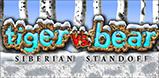Tiger vs Bear - Siberian Standoff Logo