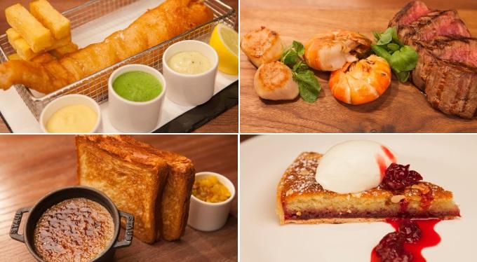 Heliot restaurant meals