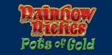 Cover art for Rainbow Riches Pots of Gold slot