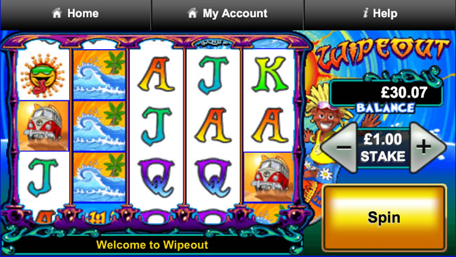 Wipeout Slot Machine – Play This Barcrest Slot Game For Free