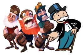Boom Brothers and Monopoly man-small