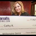 Catarina Ruela jackpot winner