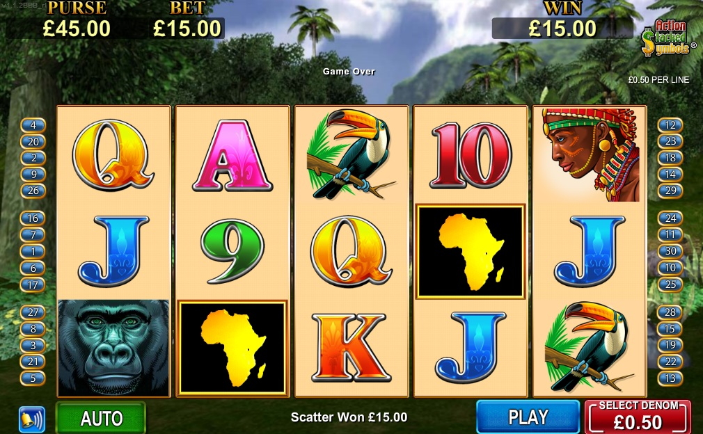 play african diamond slots