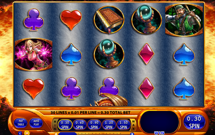 Dragon's Inferno Slot Machine - Play WMS Slots for Free