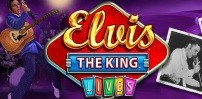 Cover art for Elvis the King Lives slot