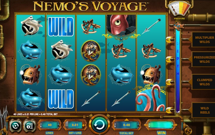 Captain Nemos Journey Slot - Play Online for Free Instantly