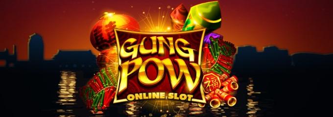 Gung Pow slot logo