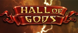 Hall of Gods slot logo