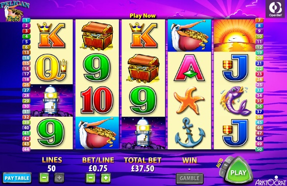 free aristocrat slots to play