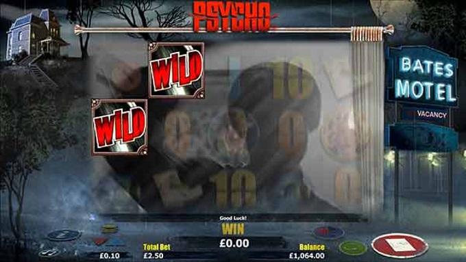 Psycho slot wilds