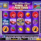 Wheel of Fortune - Triple Action Frenzy Slot