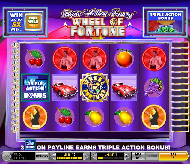 Wheel of Fortune Triple Diamond Slots - Play for Free Now