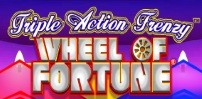 Cover art for Wheel of Fortune – Triple Action Frenzy slot