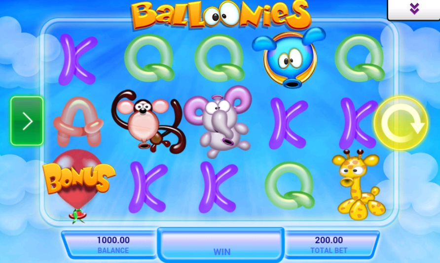 Balloonies Slots - Read the Review and Play for Free