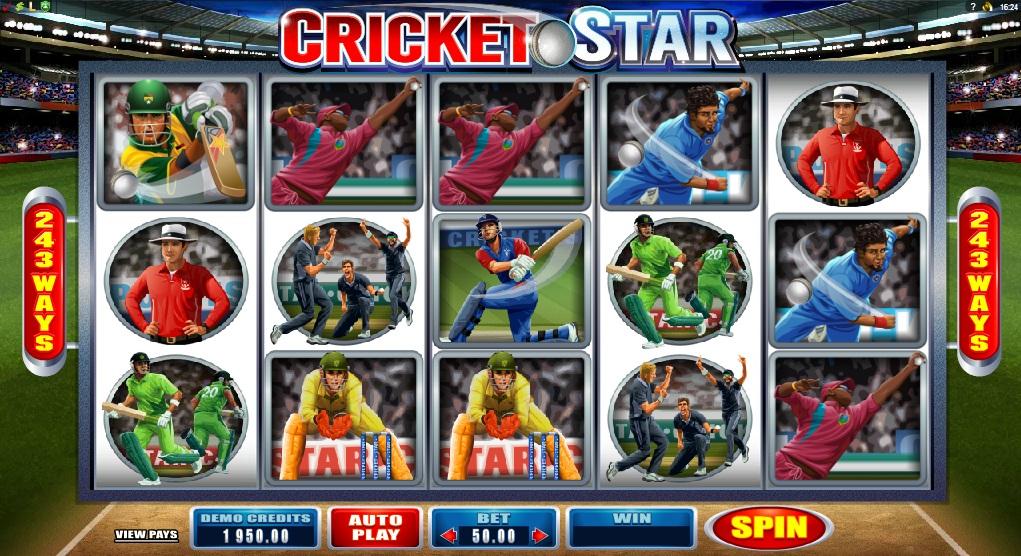 Cricket star slots