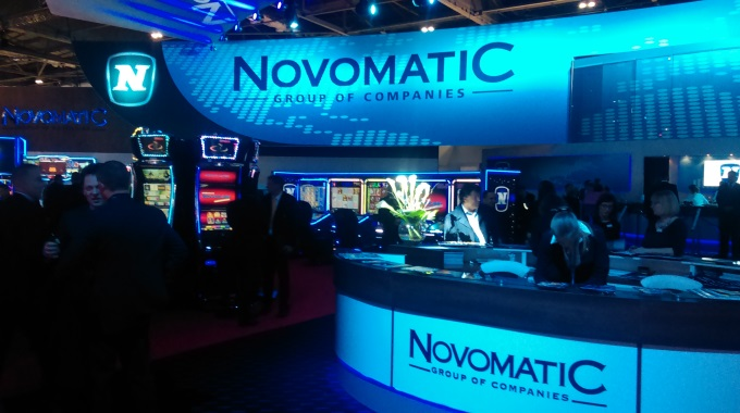 Novomatic Stand ICE 2015