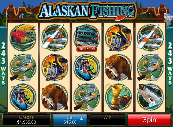 alaskan fishing slot game