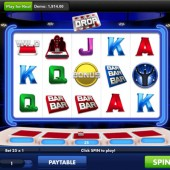 The Million Pound Drop mobile slot