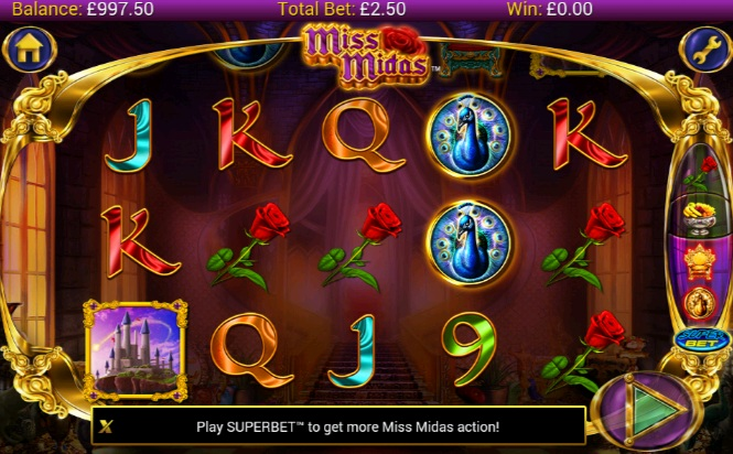 Miss Midas Dice Game - Read the Review and Play for Free