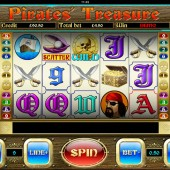 Pirates' Treasure mobile slot