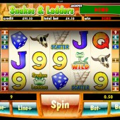 Snakes and Ladders mobile slot