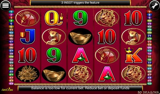 50 Dragons Free Slots