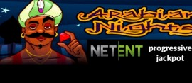Arabian Nights NetEnt jackpot