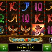 Book of Ra Deluxe mobile slot