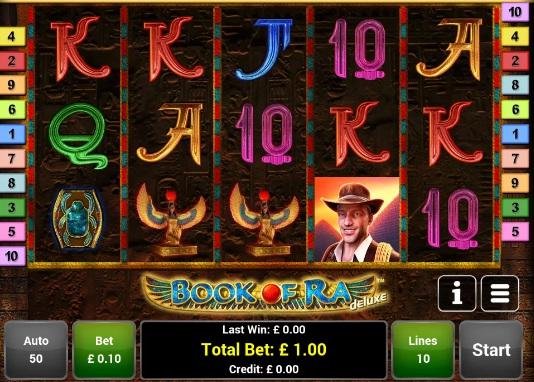 book of ra slot deluxe