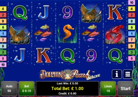 dolphin pearl free slots