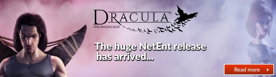 Dracula released by NetEnt slider